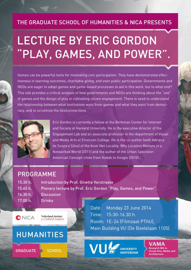 Poster Graduate Lecture Eric Gordon update-01